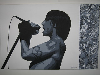 Red Hot Chili Peppers Painting Anthony Kiedis | by RatherNotSay