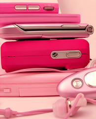 pink gadgets | by .laurie.