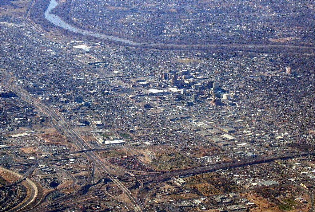Albuquerque, New Mexico | That's the interchange of I-25 ...