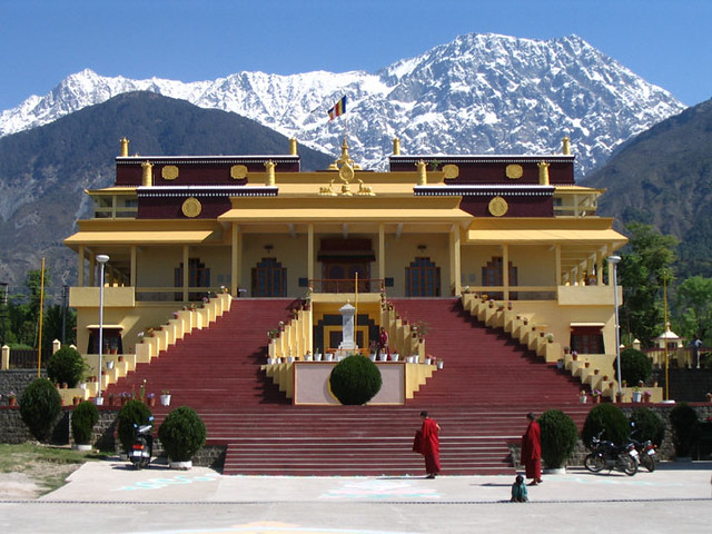 Gyuto Monastery Dharamsala India Situated In The Kangra