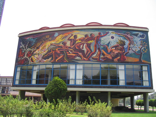unam mural | by kate at yr own risk