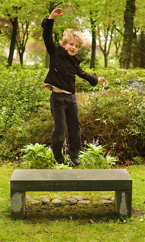 Son dancing on grave of father | by willem velthoven