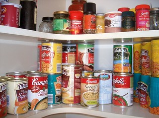Lotsa canned food in the pantry | by Br3nda