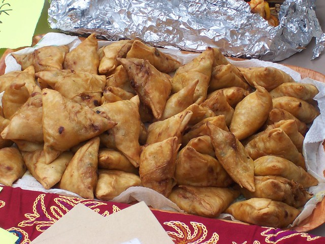 Most Delicious Street Food of Africa Samosa Deep Fried Pastry