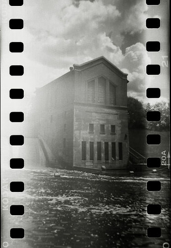 Holga 35mm: Barton Dam | by Matt Callow