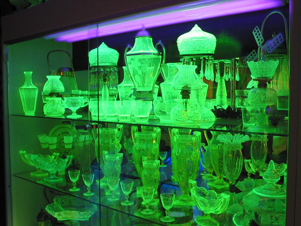 Vaseline Glass In Hawley Pa Dave Henderson Flickr