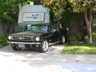Mustang Locking Car Cover