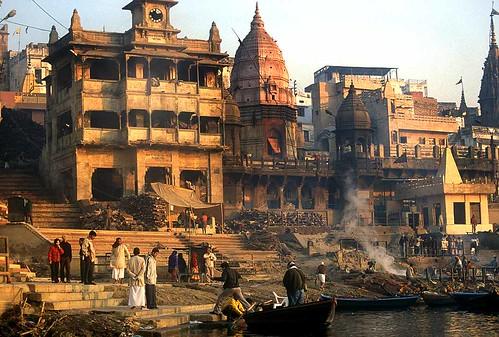 Sacred Hindu River  Letters