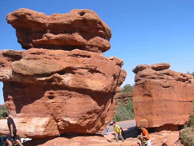 Balancing Rock Garden Of The Gods Colorado Springs Colo Flickr