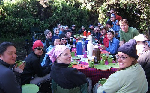 The gang at our last breakfast on the mountain | by marisa_u