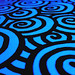 Vivid marker swirls