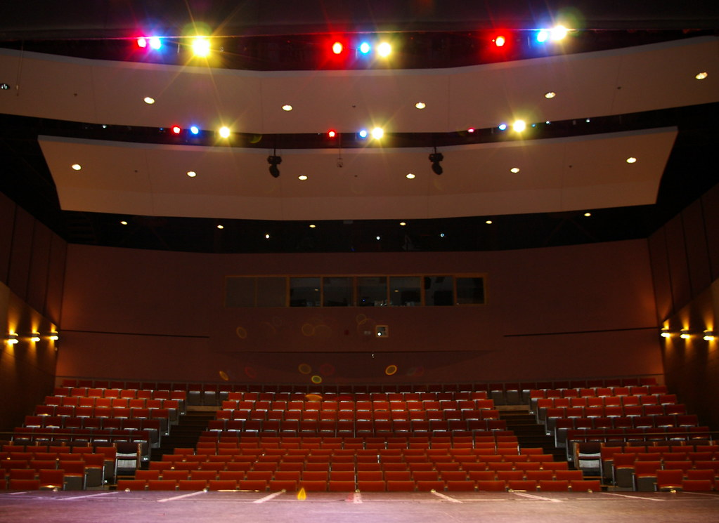 Newmarket Theatre Auditorium With Stage Lighting Charles