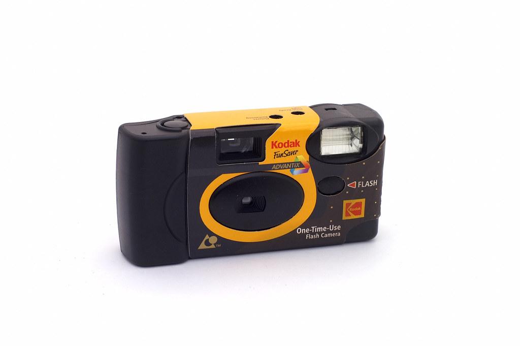 Kodak Funsaver Advantix Disposable Aps Camera Manufactured Flickr