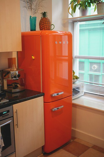 My New Smeg Fridge Freezer On The Top You Can See My 196
