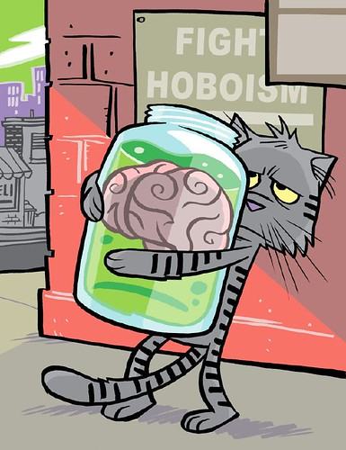 770 Bob Brain-in-a-jar, the Bodiless 'Bo | by Ape Lad