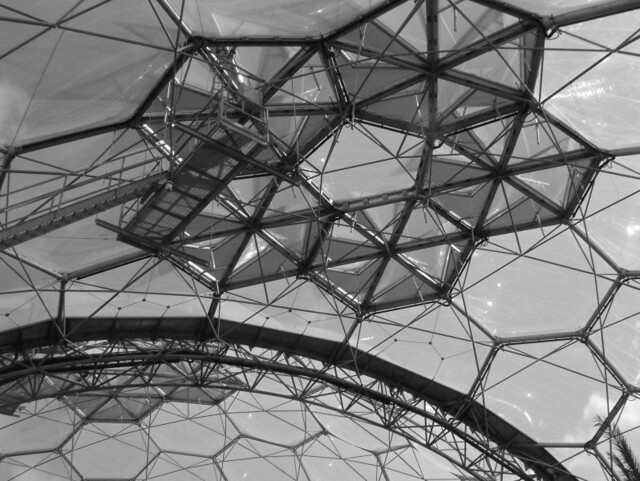 Eden Project Dome Structure