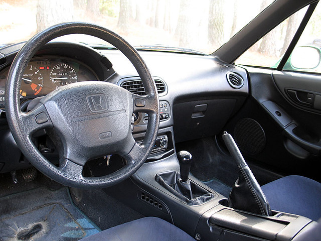1993 Honda Del Sol Si Interior Interior Is In Excellent Flickr
