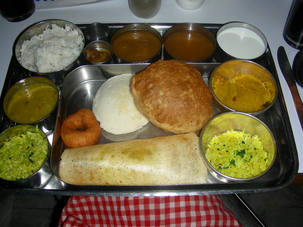 South indian food tracy hunter flickr for Abhiruchi south north indian cuisine