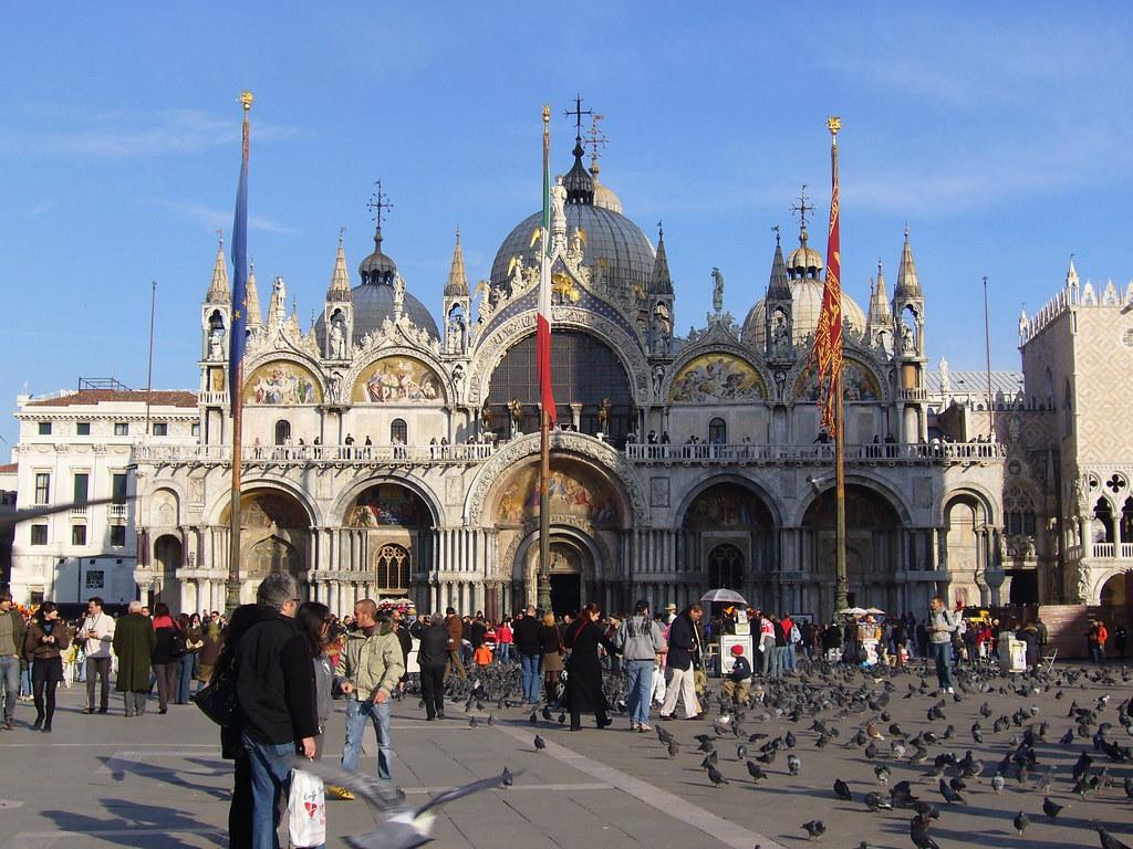 Venise Caf Ef Bf Bd Place Saint Marc