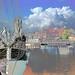 Greifswald Museumshafen - Blick zur Ladebower Seite