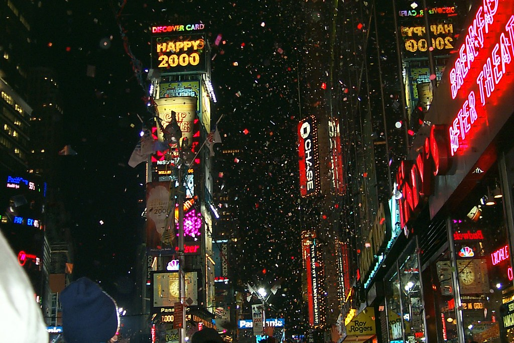New York Time Square New Years Eve