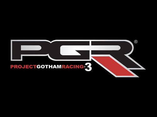 Project Gotham Racing 3 Logo Publisher Microsoft