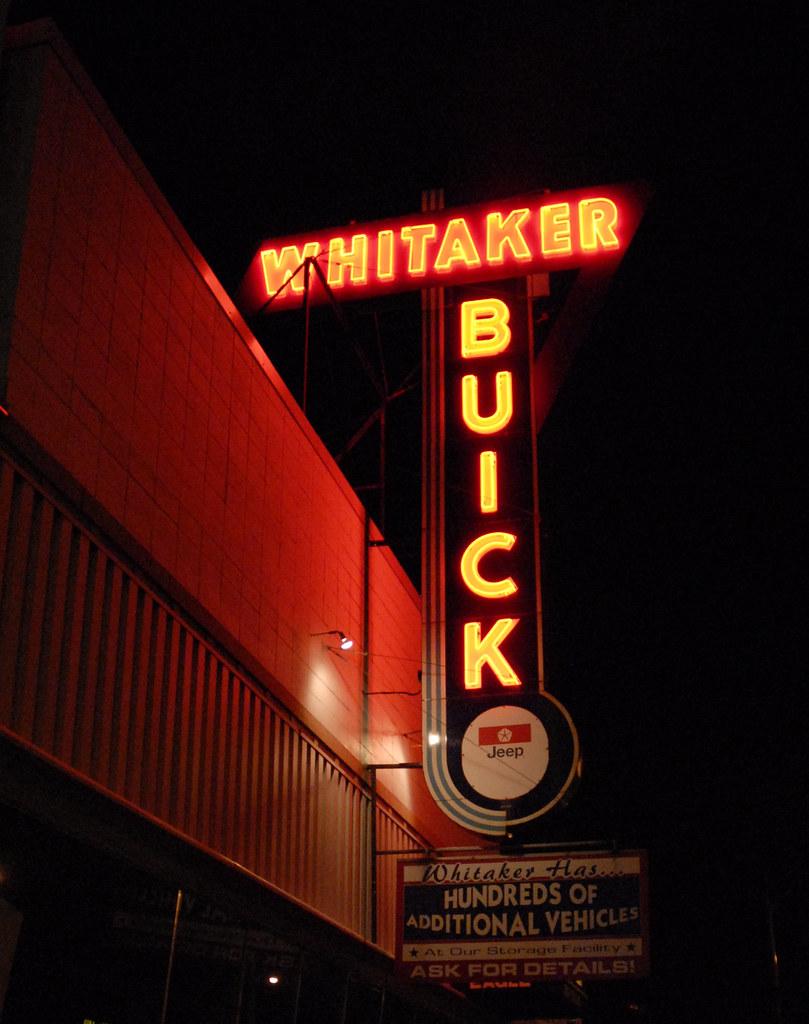 whitaker buick st paul mn the last of the old car dealer flickr. Black Bedroom Furniture Sets. Home Design Ideas