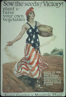 "Sow the Seeds of Victory! Plant and Raise Your Own Vegetables. Write to the National War Garden Commission, Washington, D.C., for Free Books on Gardening, Canning, and Drying. ""Every Garden a Munition Plant."" Charles Lathrop Pack, President. ca. 1918 