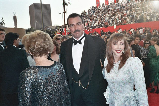 Tom Selleck Tom Selleck And Wife Jillie Mack On The Red