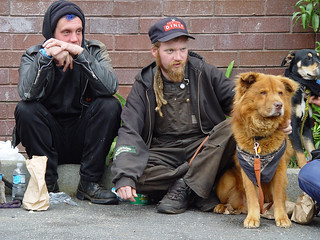 Homeless guys with dogs | by Franco Folini