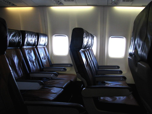 Airplane seats. | by La Shola y EL Gringo?