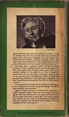 The Big Four by Agatha Christie - back cover | by clagnut