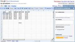 google docs and spreadsheet | by webmove