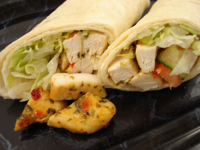 Ginger, Chilli & Lime Chicken Wrap | Flickr - Photo Sharing!