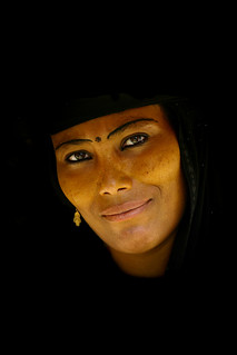 Smiling unveiled woman in Yemen | by Eric Lafforgue