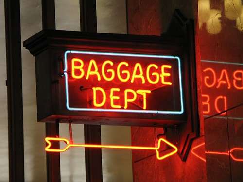 Baggage Dept | by Noël Zia Lee