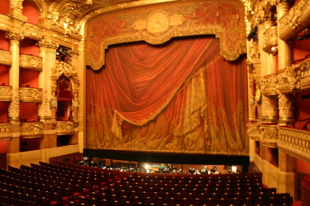 Auditorium Stage in L'Opera-Garnier   Comissioned by