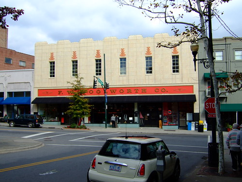 F W Woolworth, Asheville | by milknosugar