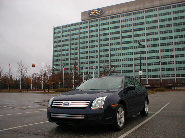 2006 Ford Fusion at Ford World Headquarters