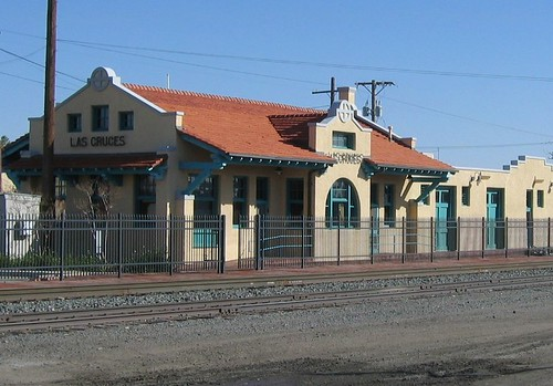 Las Cruces New Mexico Train Station Depot History The