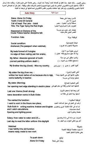 cv arabic  u0026 english