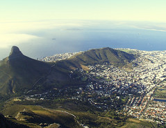 View from Table Mountain | by rogiro