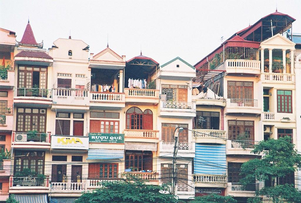 Vietnamese Style Houses In Hanoi Felix Kluge Flickr