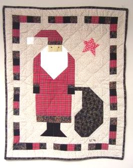 Small Santa Quilt | by IamSusie