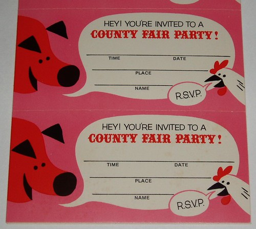 Pillsbury County Fair Party Kit | by grickily