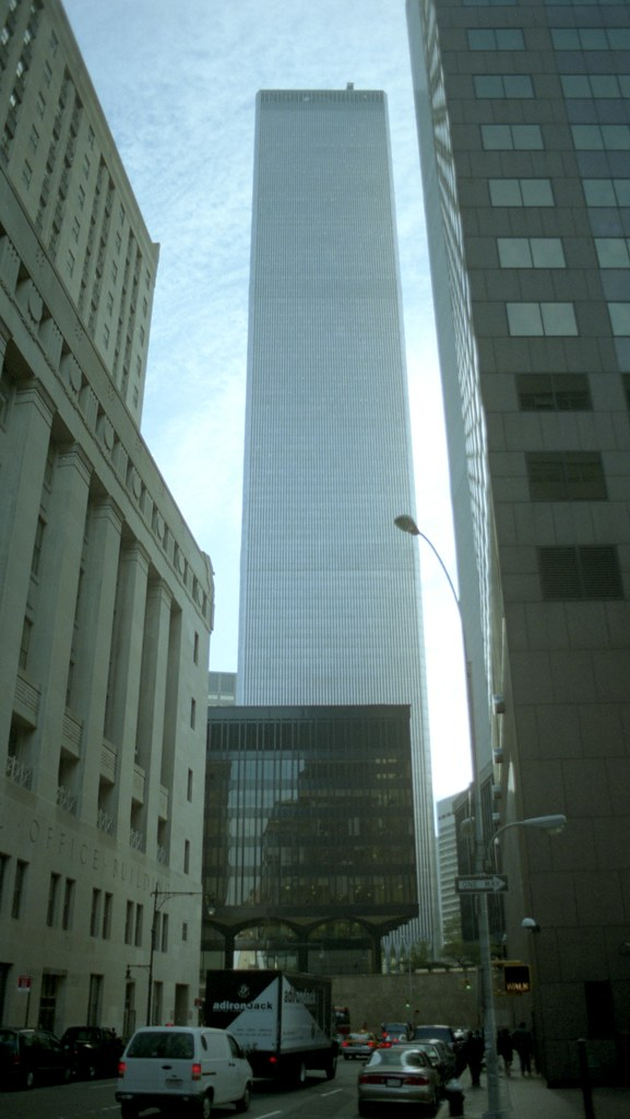 The wtc south tower 2 world trade center and the origina for 2 world trade center