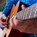 Grandpa playing guitar