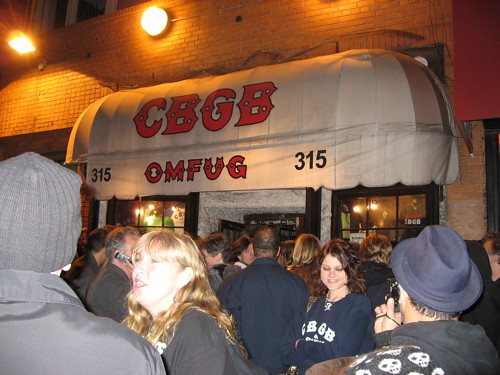 Last Show at CBGB, October 15, 2006, Patti Smith, et al. | by Qbertplaya
