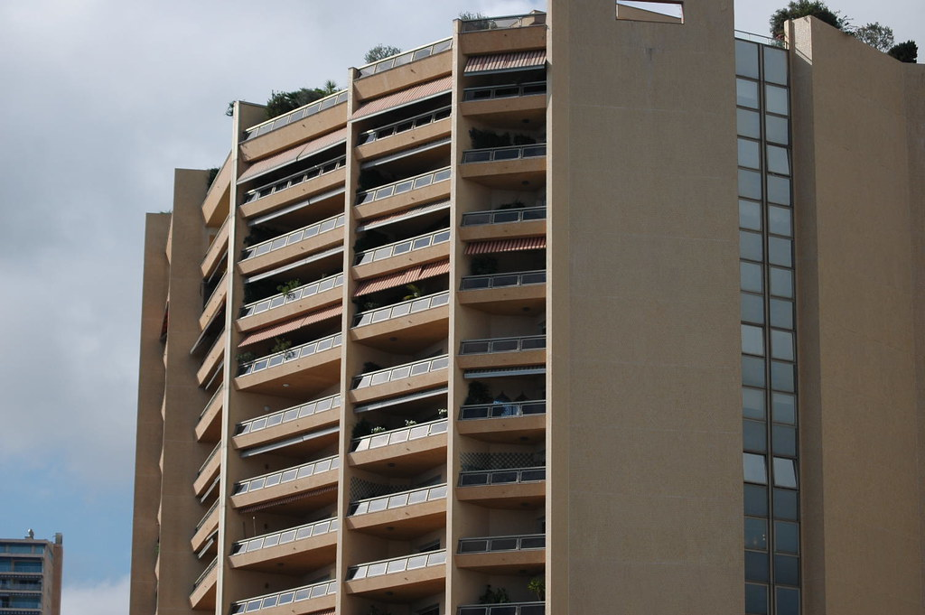 Top Of The World Some Of The Appartments In Monaco A Buil Nat Lockwood Flickr