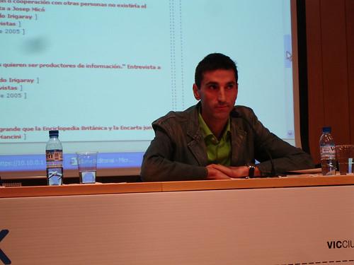 Josep Lluís Micó en la e-week 2006